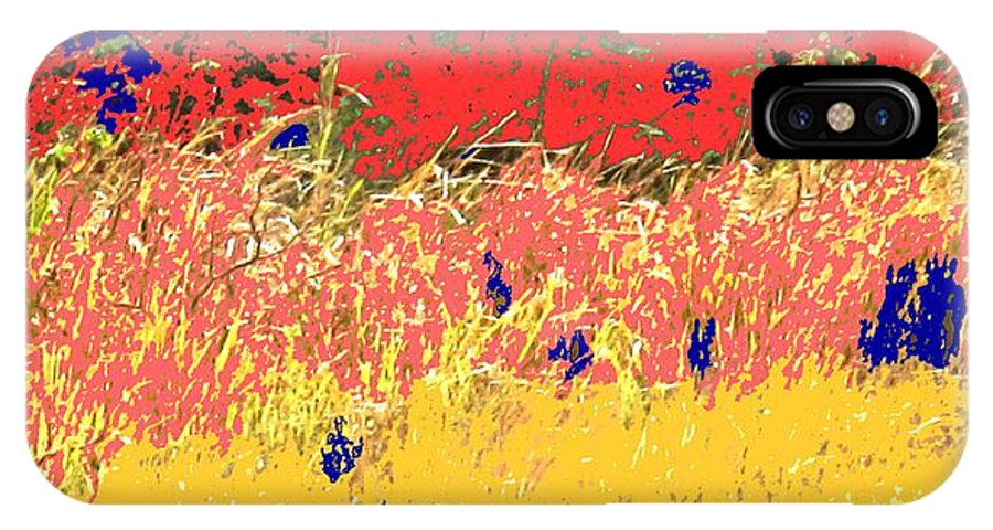 Autumn IPhone Case featuring the photograph Autumn Grasses by Ian MacDonald