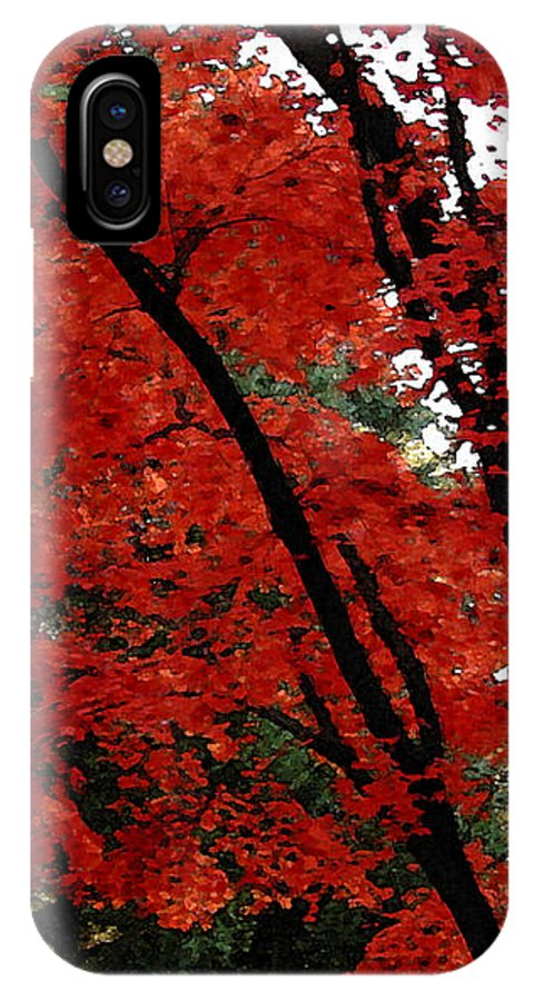 Autumn IPhone Case featuring the photograph Autumn In New England by Melissa A Benson