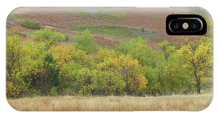 North Dakota IPhone X Case featuring the photograph Autumn In Slope County by Cris Fulton