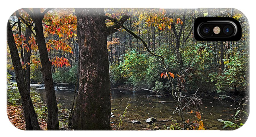 Appalachia IPhone X Case featuring the photograph Autumn Mountains by Debra and Dave Vanderlaan