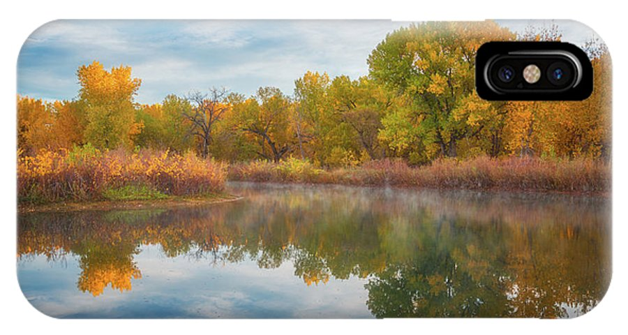 Colorado IPhone X Case featuring the photograph Autumn Pond by Darren White