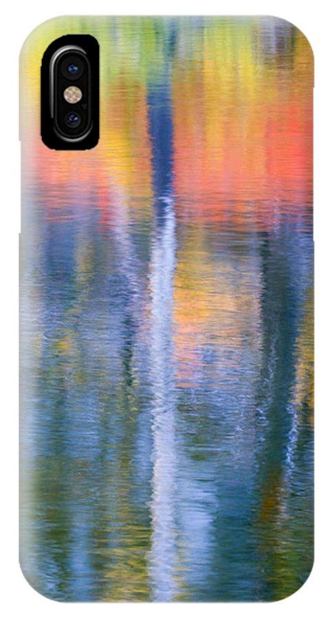Reflection IPhone Case featuring the photograph Autumn Resurrection by Mike Dawson