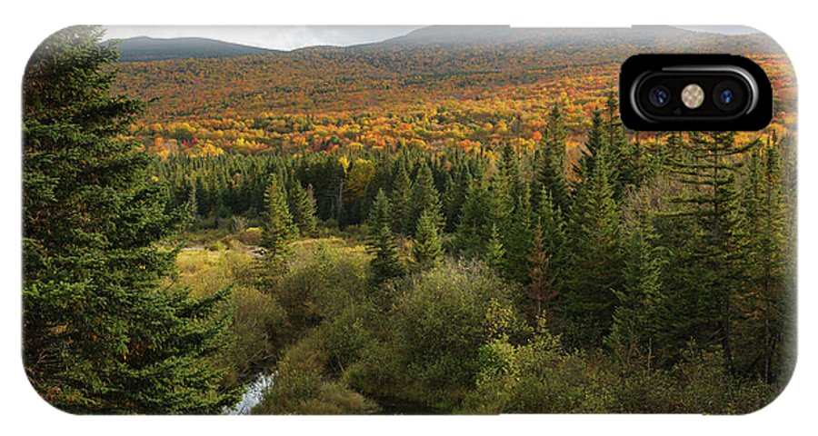 Autumn IPhone X Case featuring the photograph Autumn - White Mountains New Hampshire by Erin Paul Donovan