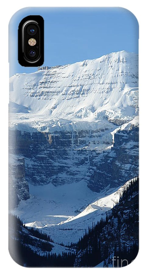 Conditions Are Perfect IPhone X Case featuring the photograph Avalanche Ledge by Greg Hammond