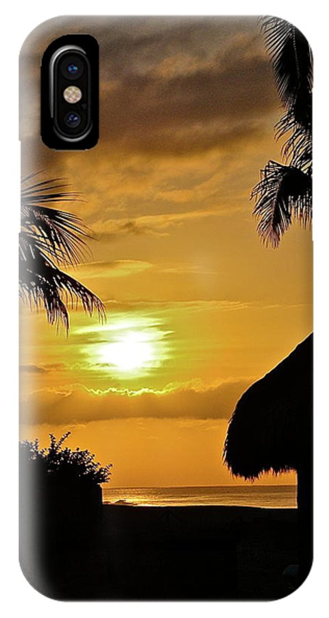 Beach IPhone X Case featuring the photograph Baja Vacation by Diana Hatcher