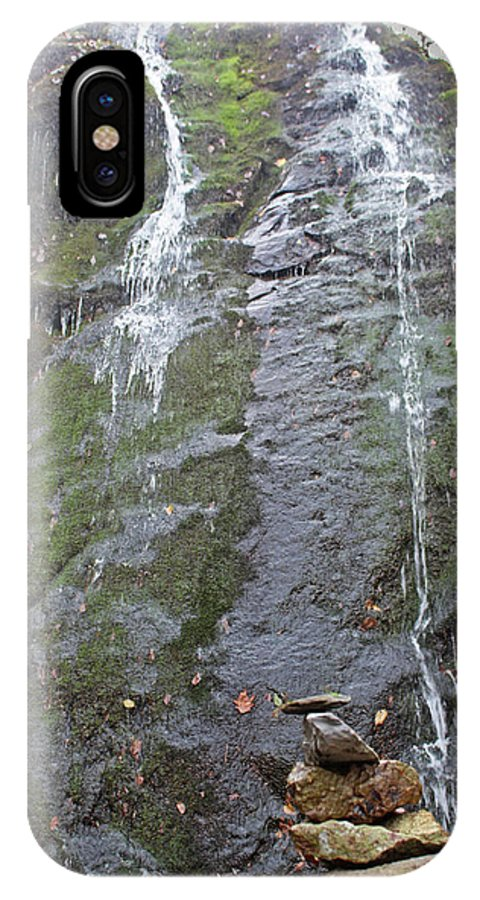 Water Fall IPhone X Case featuring the photograph Balanced Life by Paul A Williams
