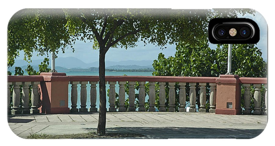 Landscape IPhone X Case featuring the photograph Balcony On The Beach In Naguabo Puerto Rico by Tito Santiago