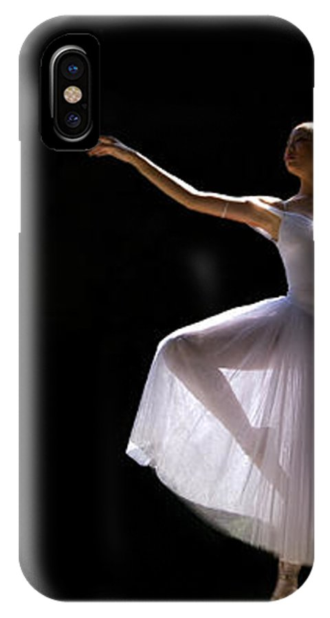 Ballet Dancer IPhone X Case featuring the photograph Ballet Dancer6 by George Cabig