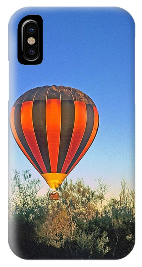 Hot Air Balloon IPhone X Case featuring the photograph Balloon Launch by Gary Wonning