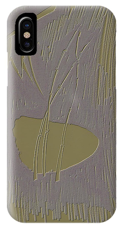 Bamboo IPhone X Case featuring the photograph Bamboo by Viktor Savchenko