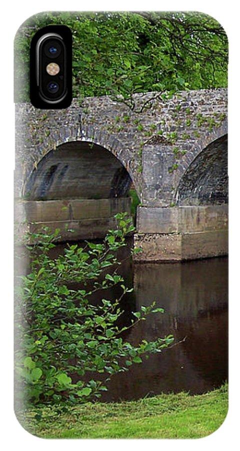 Bridge IPhone X Case featuring the photograph Banada Bridge by Lisa Blake
