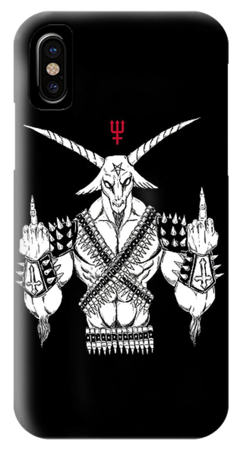 Baphomet Left Hand Path IPhone X Case