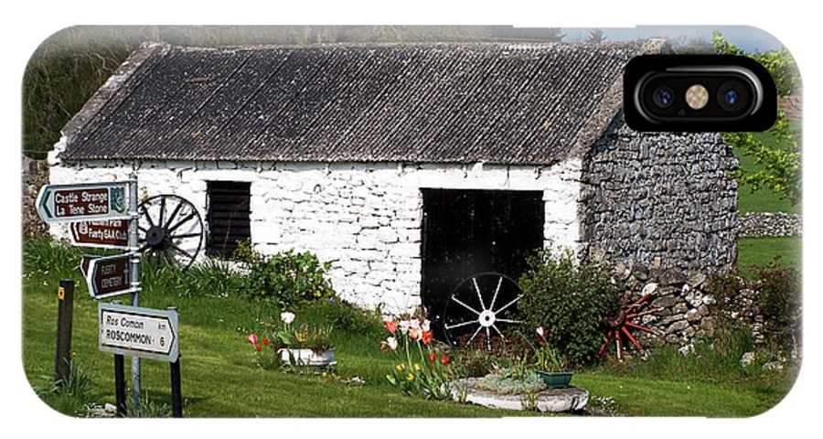Ireland IPhone Case featuring the photograph Barn At Fuerty Church Roscommon Ireland by Teresa Mucha