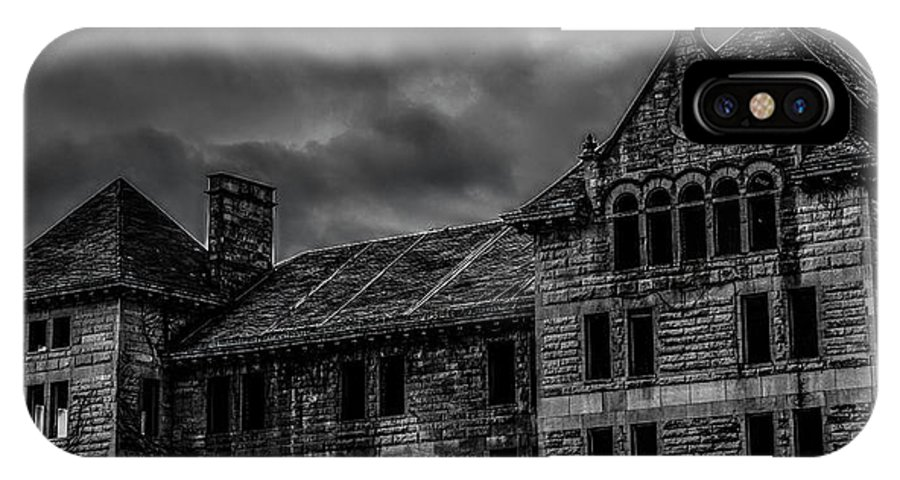 Bartonville IPhone X Case featuring the photograph Bartonville State Hospital by Jeremy Rickman