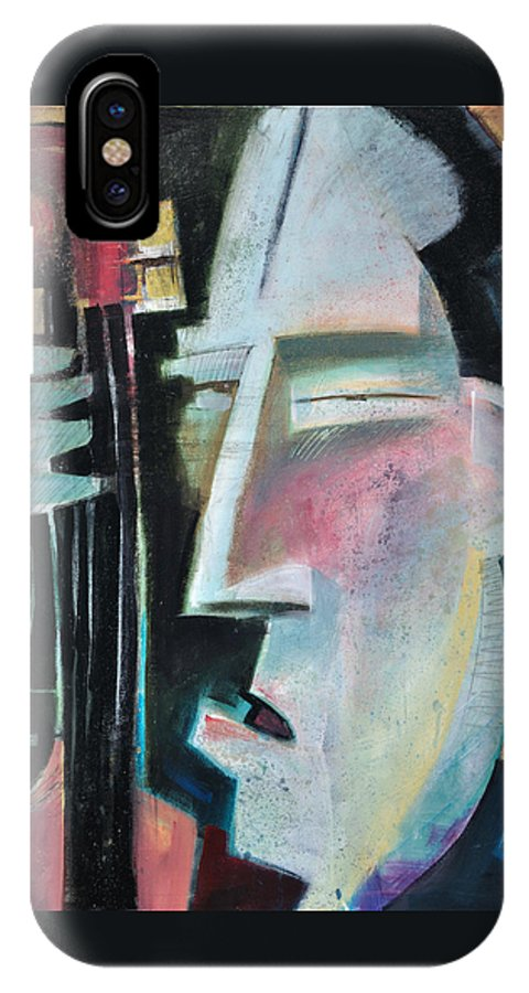 Jazz IPhone Case featuring the painting Bass Face by Tim Nyberg