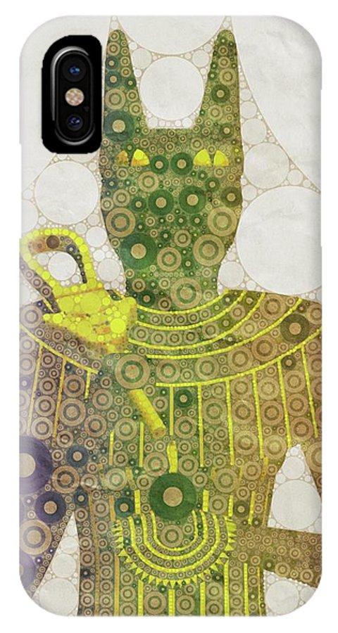 Bastet, Goddess Of Egypt, Pop Art By Mb IPhone X Case