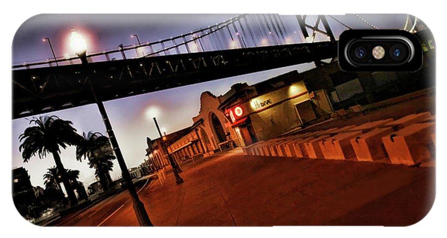 Bay Bridge IPhone X Case featuring the photograph Bay Bridge by Blake Richards