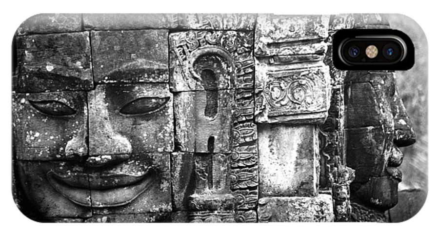 Bayon Temple IPhone X Case featuring the photograph Bayon IIi by Patrick Klauss