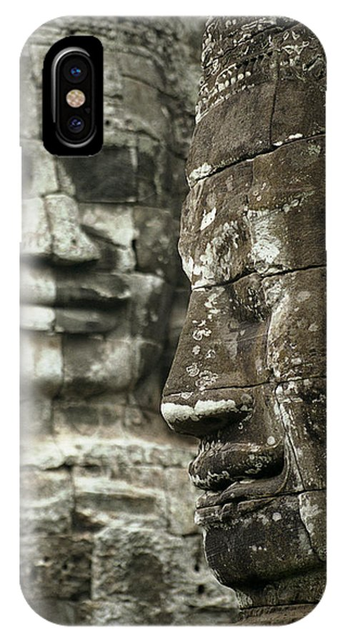 Bayon IPhone X Case featuring the photograph Bayonii by Patrick Klauss