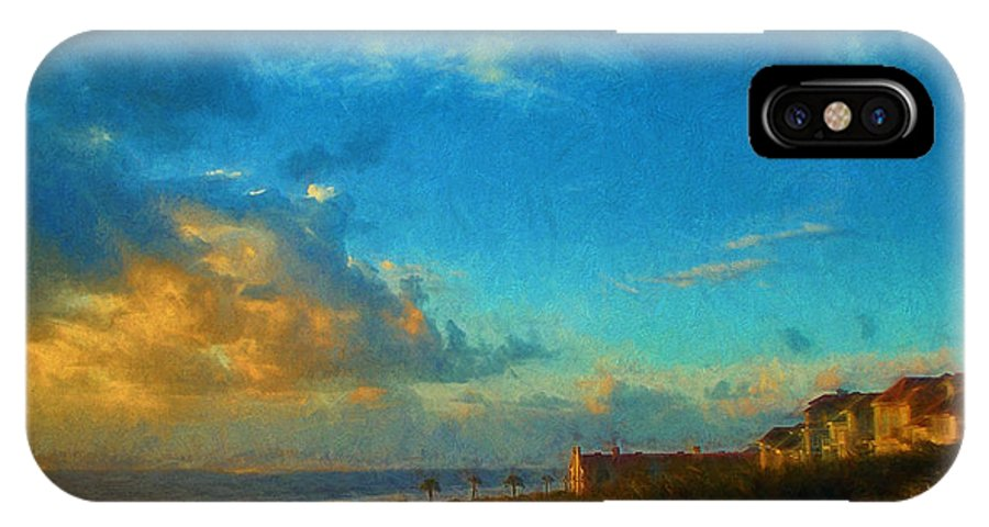 Art Prints IPhone X Case featuring the photograph Beach Beauty by Dave Bosse