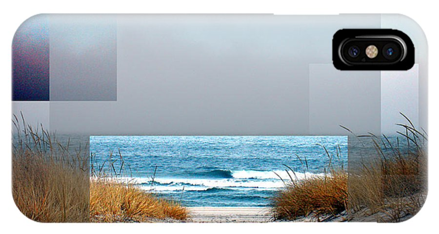Beach IPhone Case featuring the photograph Beach Collage by Steve Karol