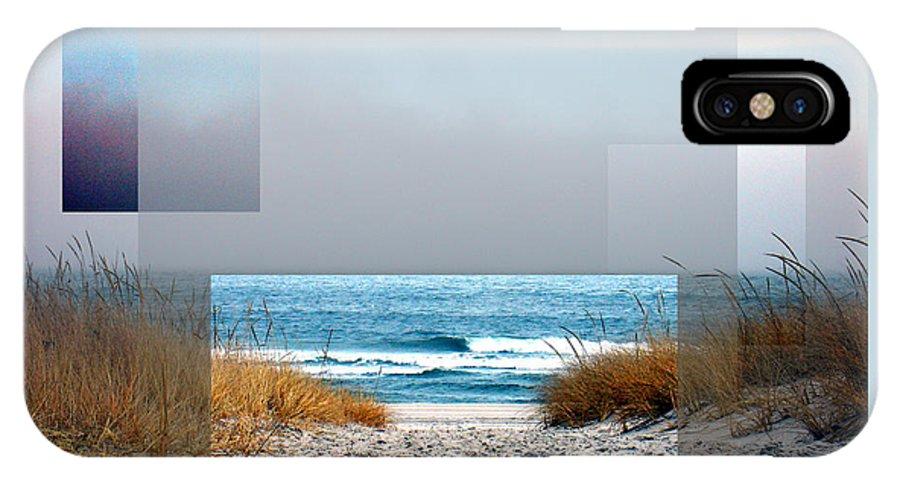 Beach IPhone X Case featuring the photograph Beach Collage by Steve Karol