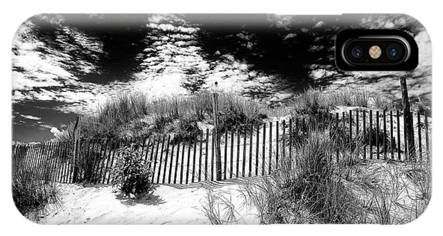 Lbi IPhone X Case featuring the photograph Beach Haven Long Beach Island by John Rizzuto