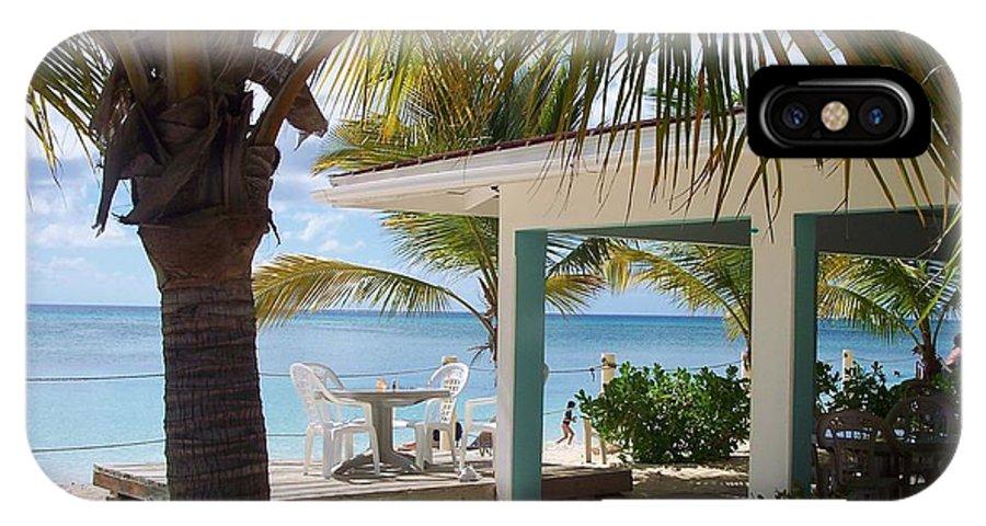 Beach IPhone X Case featuring the photograph Beach In Grand Turk by Debbi Granruth