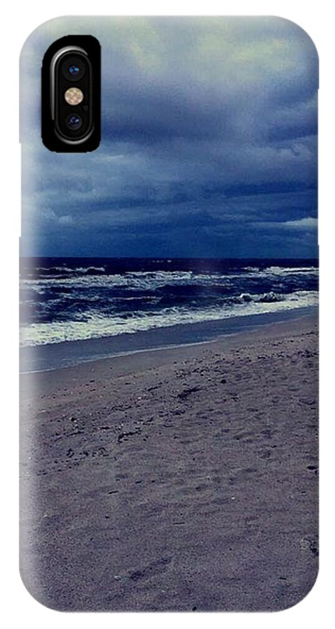 IPhone X Case featuring the photograph Beach by Kristina Lebron