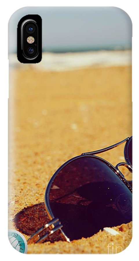 Beach IPhone X Case featuring the photograph Beach Life1 by Jannice Walker