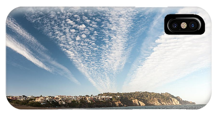 Beach IPhone X Case featuring the photograph Beach by Wim Slootweg