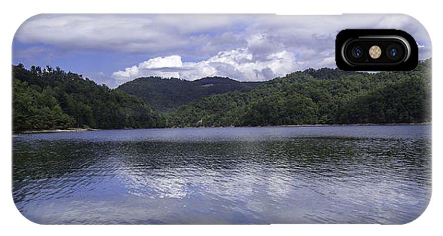 Bear Lake IPhone X Case featuring the photograph Bear Lake North Carolina by Capturing The Carolinas