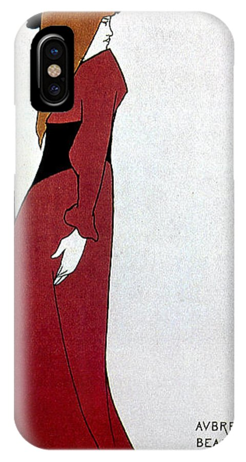 1895 IPhone X Case featuring the photograph Beardsley: Poster Design by Granger
