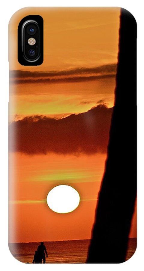 Sun IPhone X Case featuring the photograph Beautiful Baja by Diana Hatcher