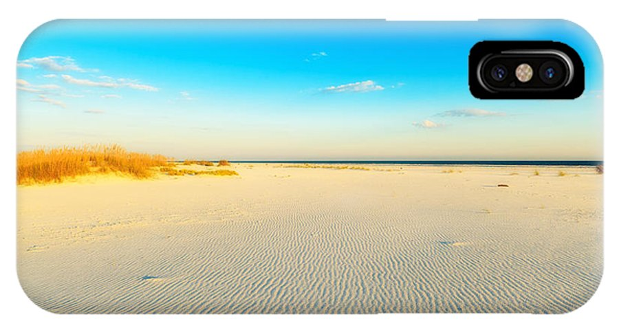Florida IPhone X Case featuring the photograph Beautiful Beach by Raul Rodriguez