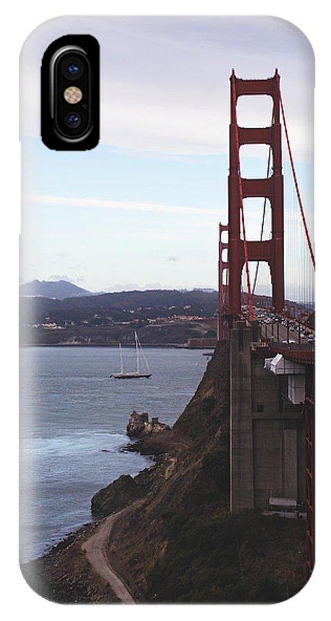 Bridge IPhone X Case featuring the photograph Beautiful Morning by Jose Cadenas