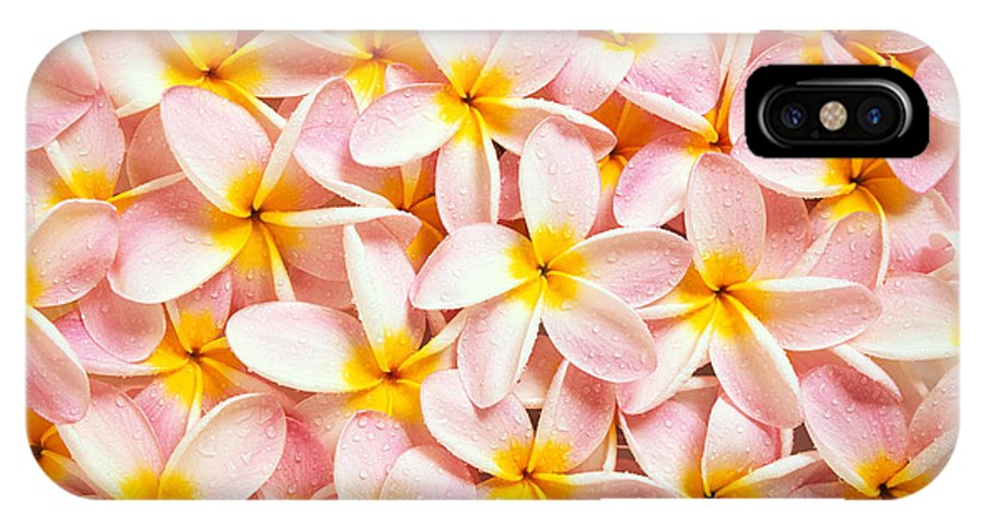 Aloha IPhone X Case featuring the photograph Bed Of Light by Kyle Rothenborg - Printscapes