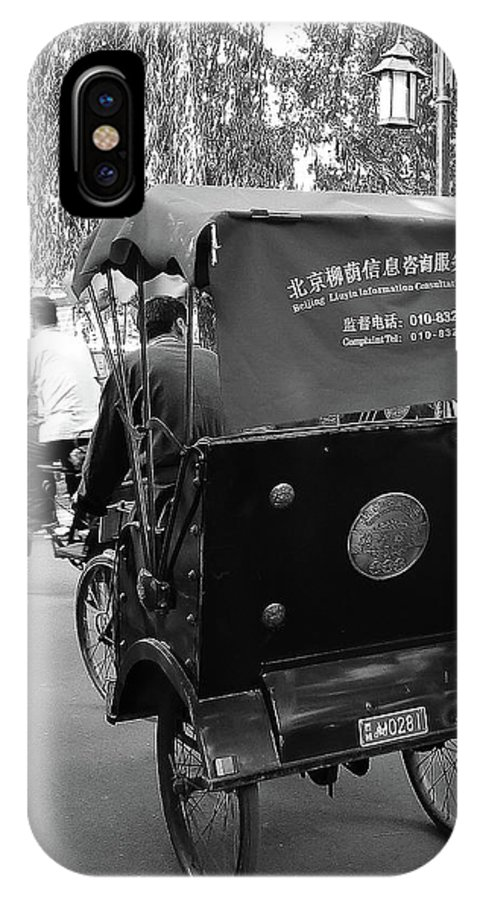 Beijing IPhone X Case featuring the photograph Beijing City 4 by Xueling Zou