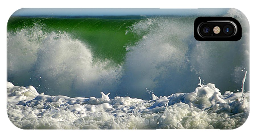 Ocean IPhone X Case featuring the photograph Being There by Dianne Cowen