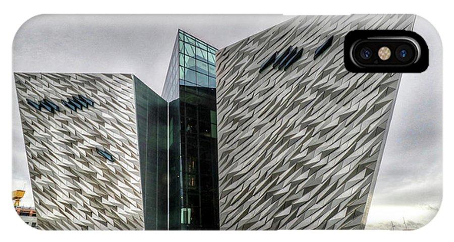 Belfast Northern Ireland United Kingdom Uk IPhone X Case featuring the photograph Belfast Northern Ireland United Kingdom Uk by Paul James Bannerman