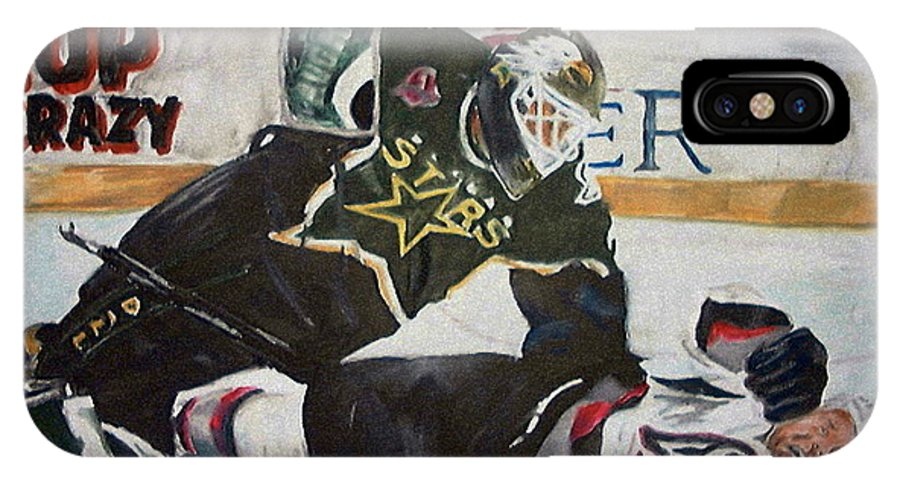 Belfour IPhone X Case featuring the painting Belfour by Travis Day