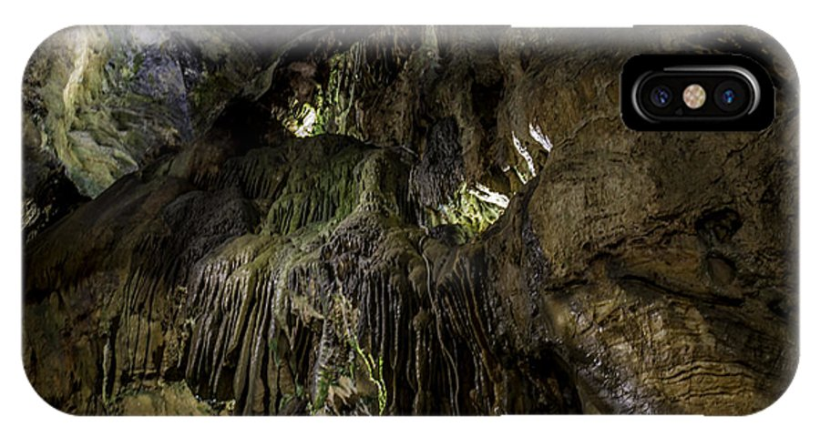 Cave IPhone X / XS Case featuring the photograph Below by Steven Wilson