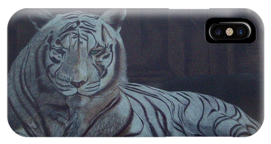 Wild Live IPhone Case featuring the painting Bengala Tiger by Fanny Diaz