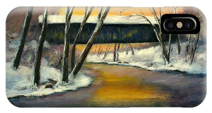 Kentucky IPhone Case featuring the painting Bennett by Gail Kirtz