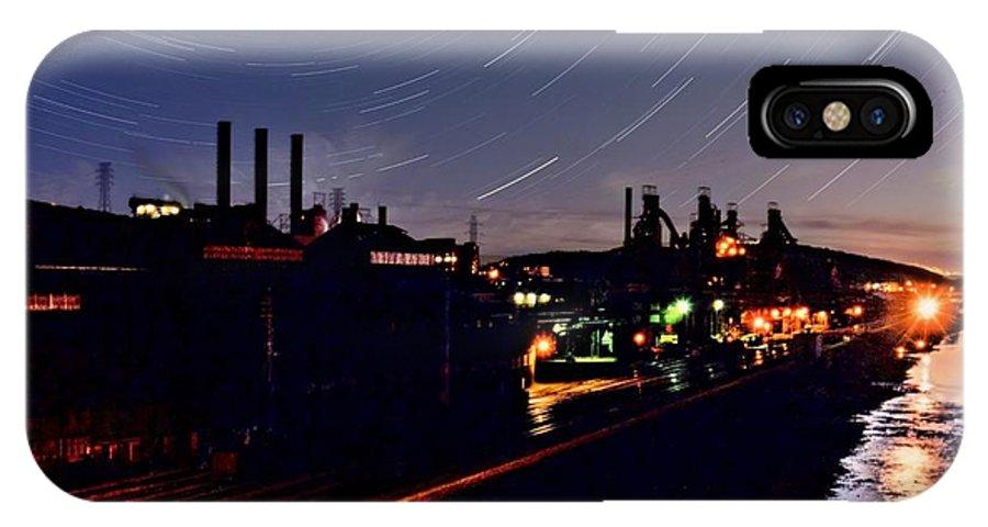 Bethlehem IPhone X Case featuring the photograph Bethlehem Steel by DJ Florek