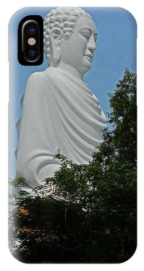 Phu My IPhone X Case featuring the photograph Big Buddha 5 by Ron Kandt