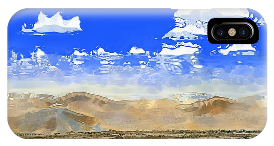 Southwest IPhone X Case featuring the digital art Big Country by Kerry Beverly