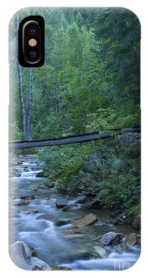 Creek IPhone Case featuring the photograph Big Creek Bridge by Idaho Scenic Images Linda Lantzy