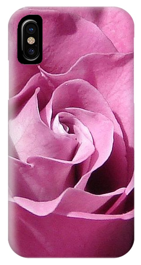 Rose Pink IPhone Case featuring the photograph Big Pink by Luciana Seymour