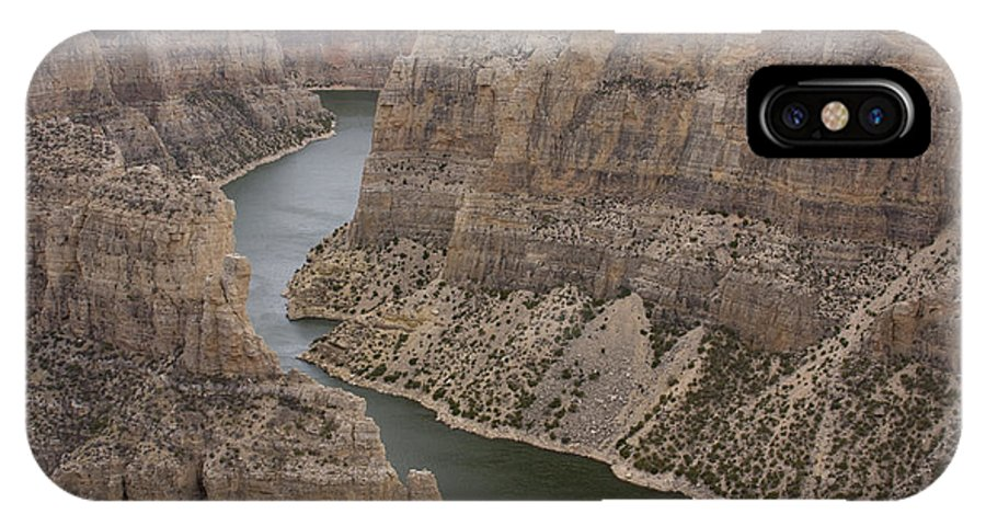 Canyon IPhone X Case featuring the photograph Bighorn Canyon by Idaho Scenic Images Linda Lantzy